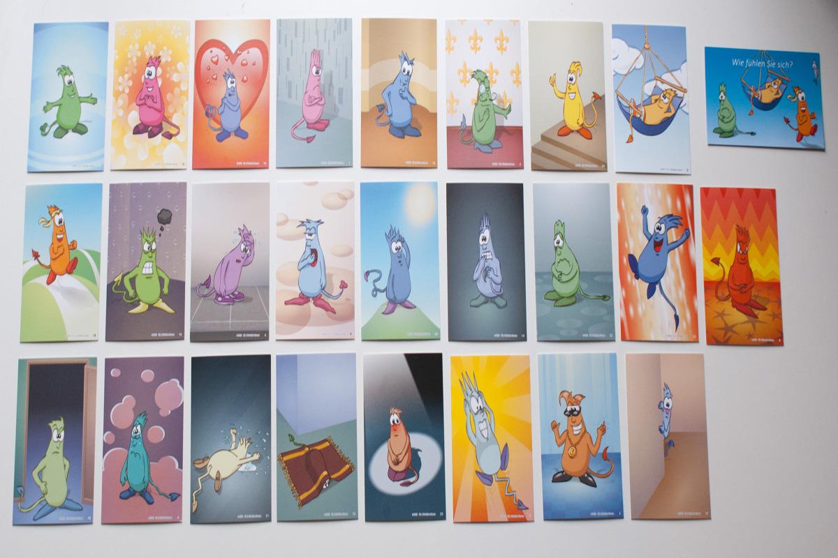 Gefühlsmonster-Karten